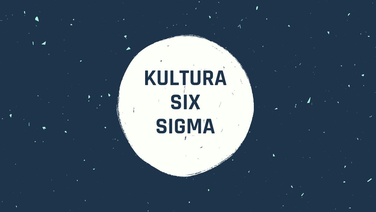 Kultura Six Sigma w organizacjach
